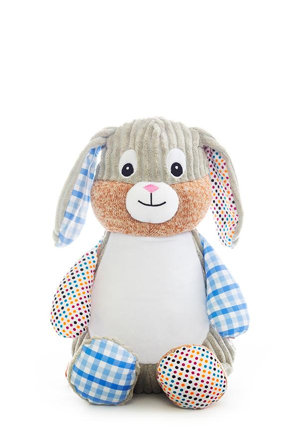 Blue Bunny Baby Sensory Teddy