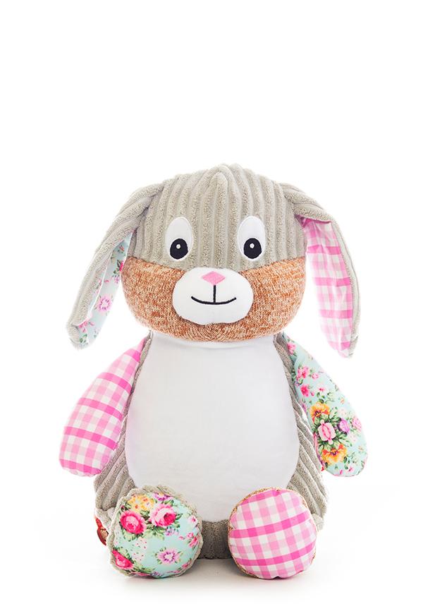 Pink Bunny Baby Sensory Teddy