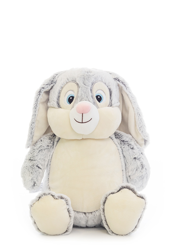 Grey Bunny Soft Sensory Toy