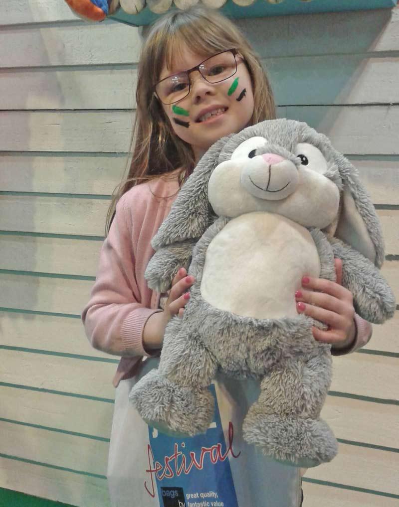 Grey Bunny Teddy