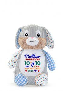 Personalised Bunny Teddy Bear