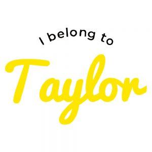 I Belong To