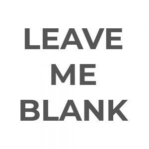 Leave Me Blank