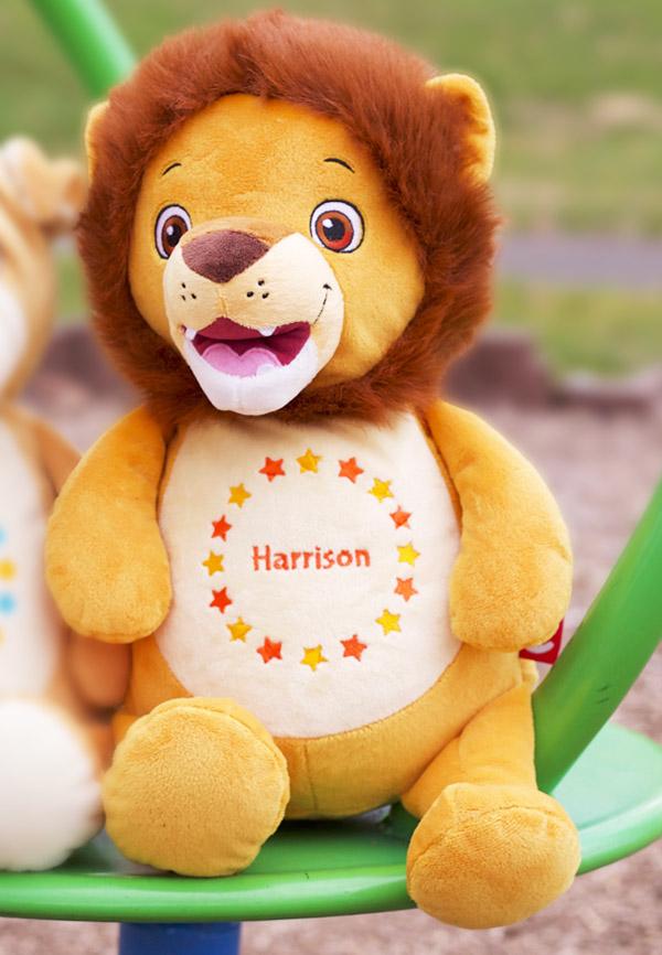 Personalised Lion Teddy Personalised Teddy Bears Cubbies