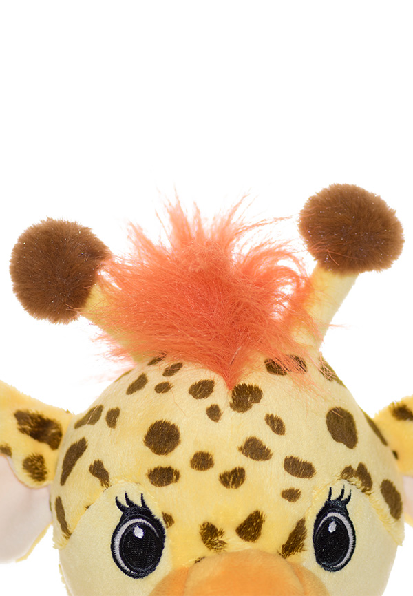 Personalised Giraffe Teddy Baby Sensory Toy